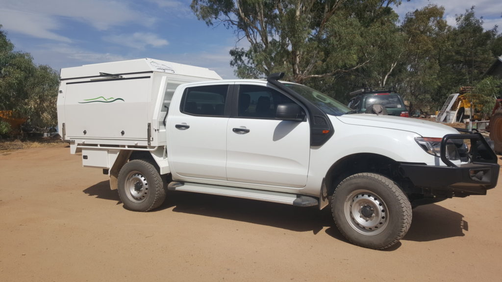 be999887a4eeb6 Dual Cab. Tailgate Campers