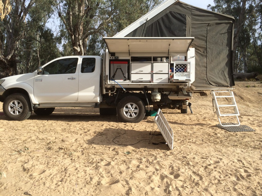 Quality Slide-On Campers, Australian Made Trayback